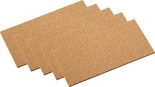 Korkplatten Pads 100 x 200 mm - selbstklebend