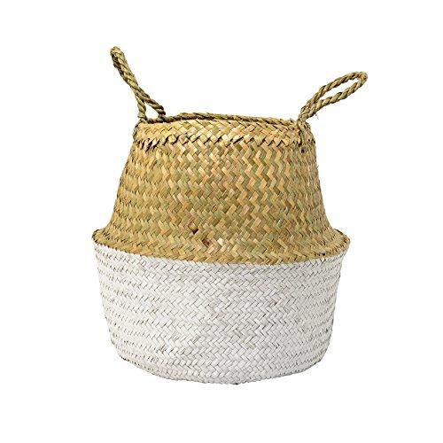 Accessories Korb aus Seegras mit Griffen 34 cm