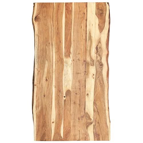 Massivholz Tischplatte Baumkante Massivholzplatte Akazie