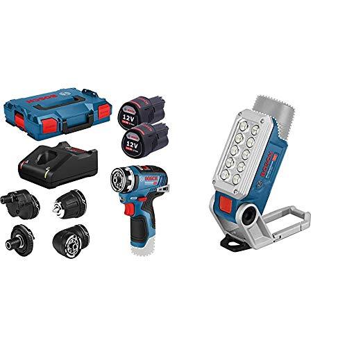 Bosch Professional 12V Akkuschrauber mit System Akku LED-Lampe